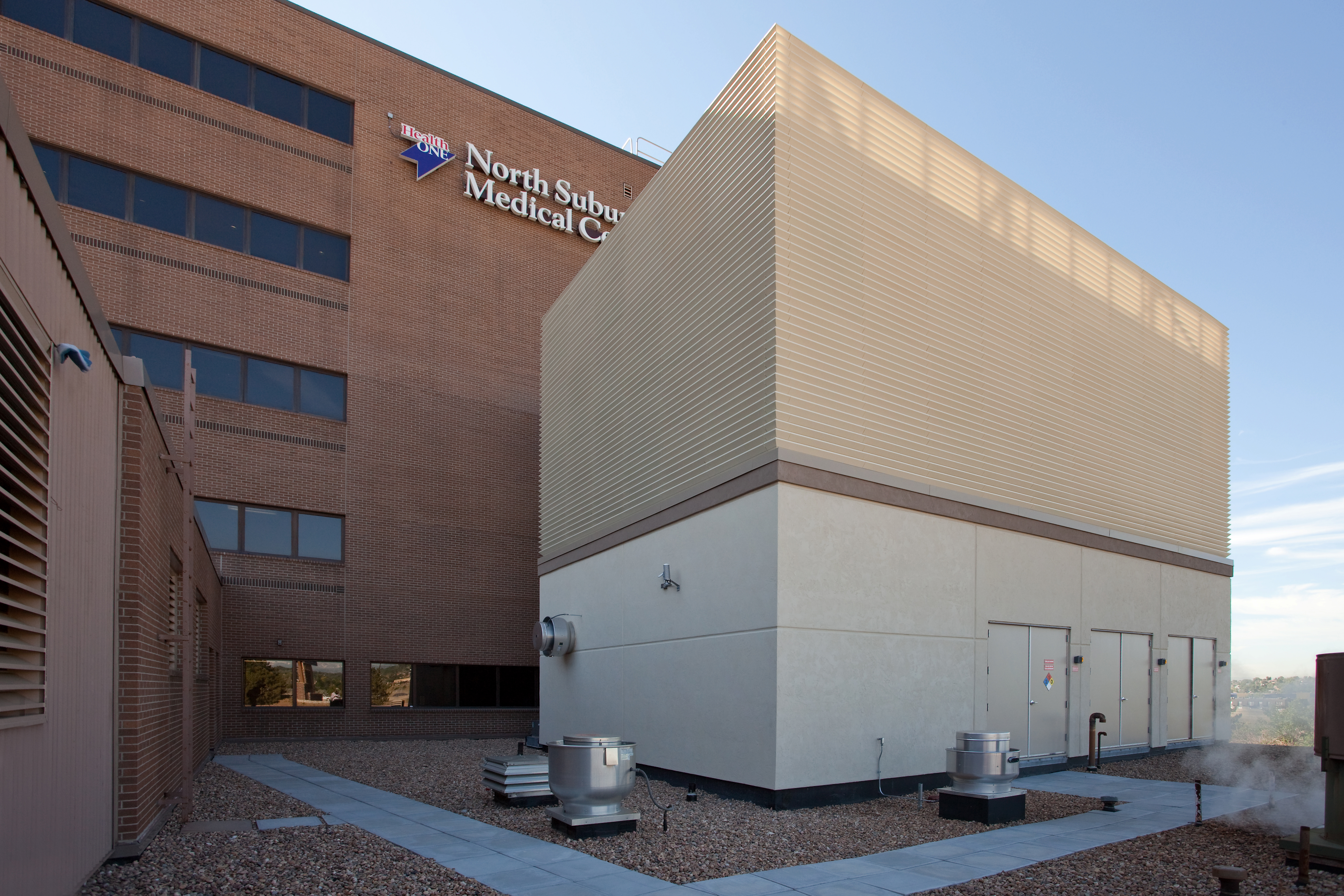 North Suburban Medical Center Chiller Plant Expansion