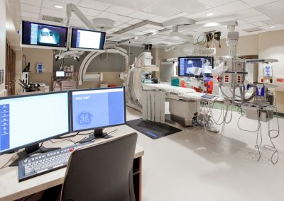 TMCA Cath Lab and Recovery